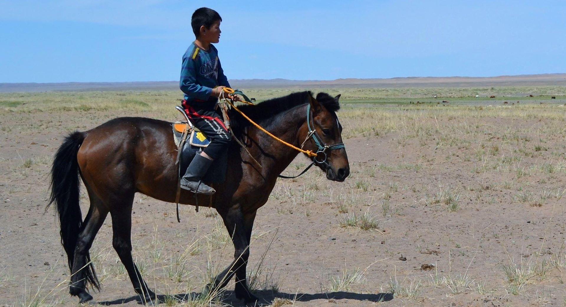 Mit dem Pferd zur Schule? - Kinder in der Mongolei (ab 6 Jahren)
